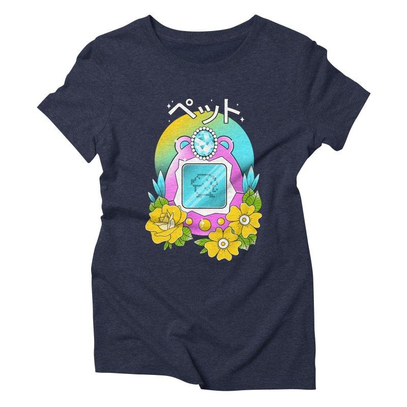 Digital Pet Women's Triblend T-Shirt by godzillarge's Artist Shop
