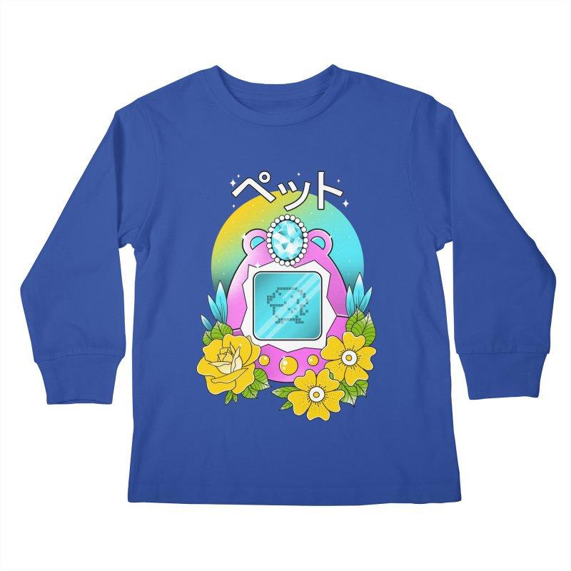 Digital Pet Kids Longsleeve T-Shirt by godzillarge's Artist Shop