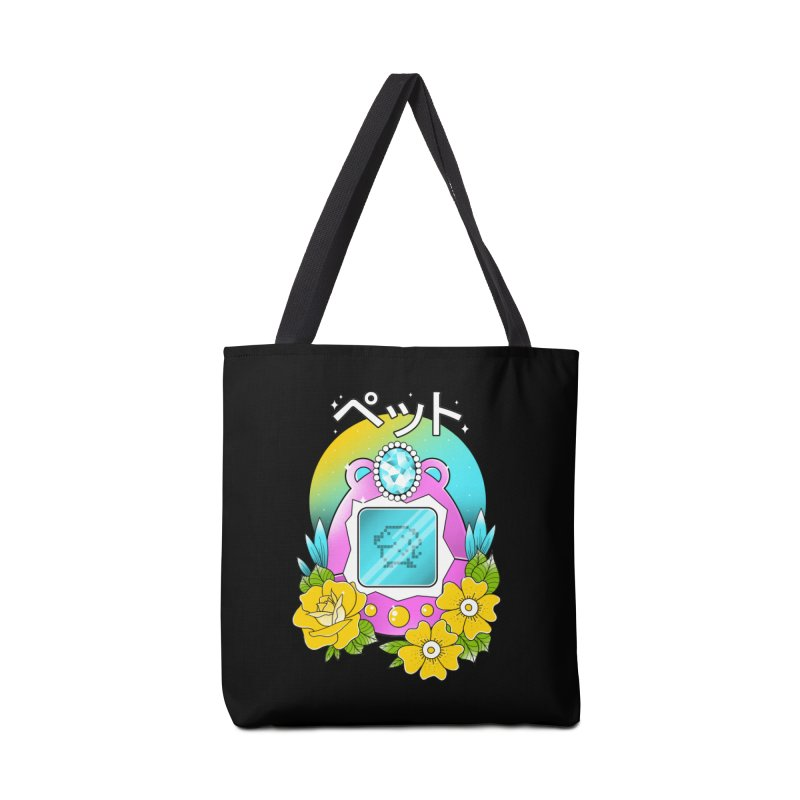 Digital Pet Accessories Tote Bag Bag by godzillarge's Artist Shop