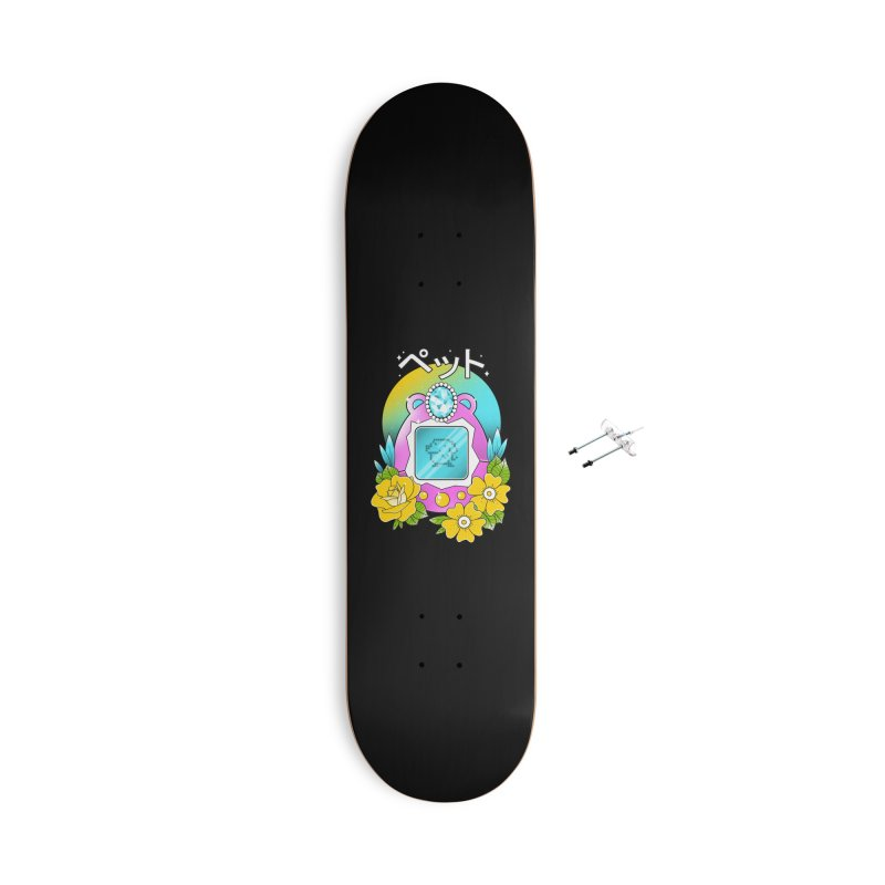 Digital Pet Accessories With Hanging Hardware Skateboard by godzillarge's Artist Shop
