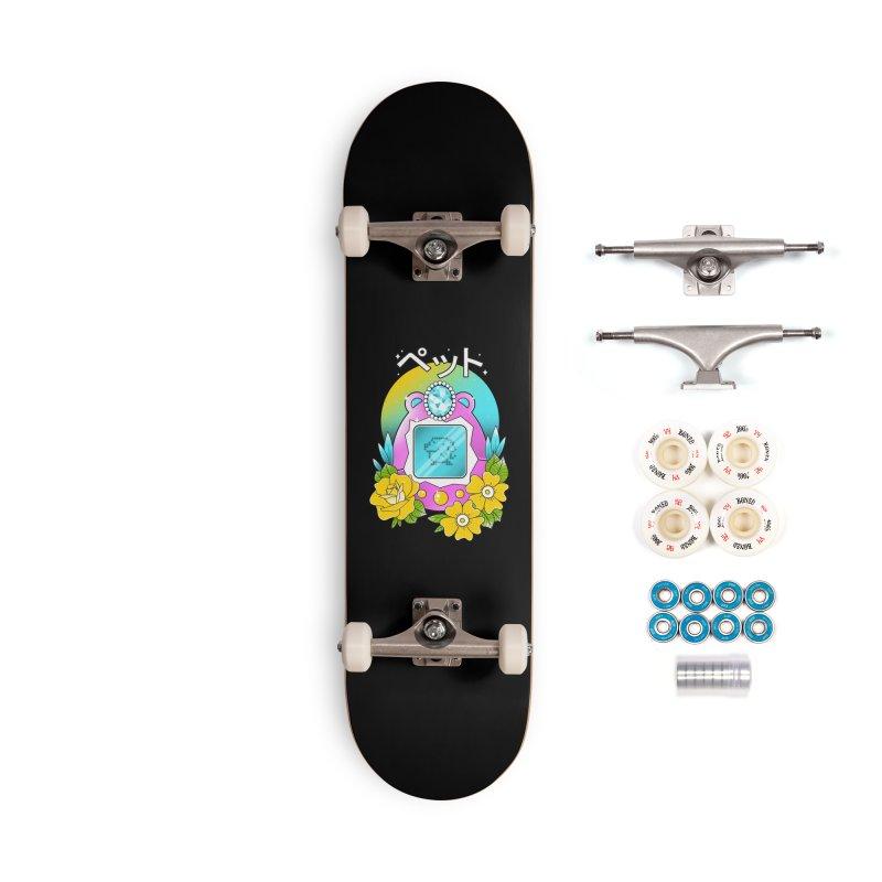 Digital Pet Accessories Complete - Premium Skateboard by godzillarge's Artist Shop