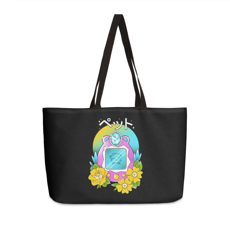 Digital Pet Accessories Weekender Bag Bag by godzillarge's Artist Shop