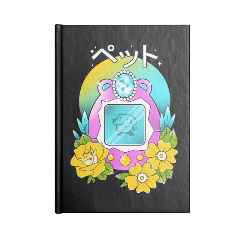 Digital Pet Accessories Lined Journal Notebook by godzillarge's Artist Shop