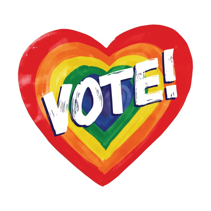 VOTE LGBTQIA!! Men's T-Shirt by Go High Signs