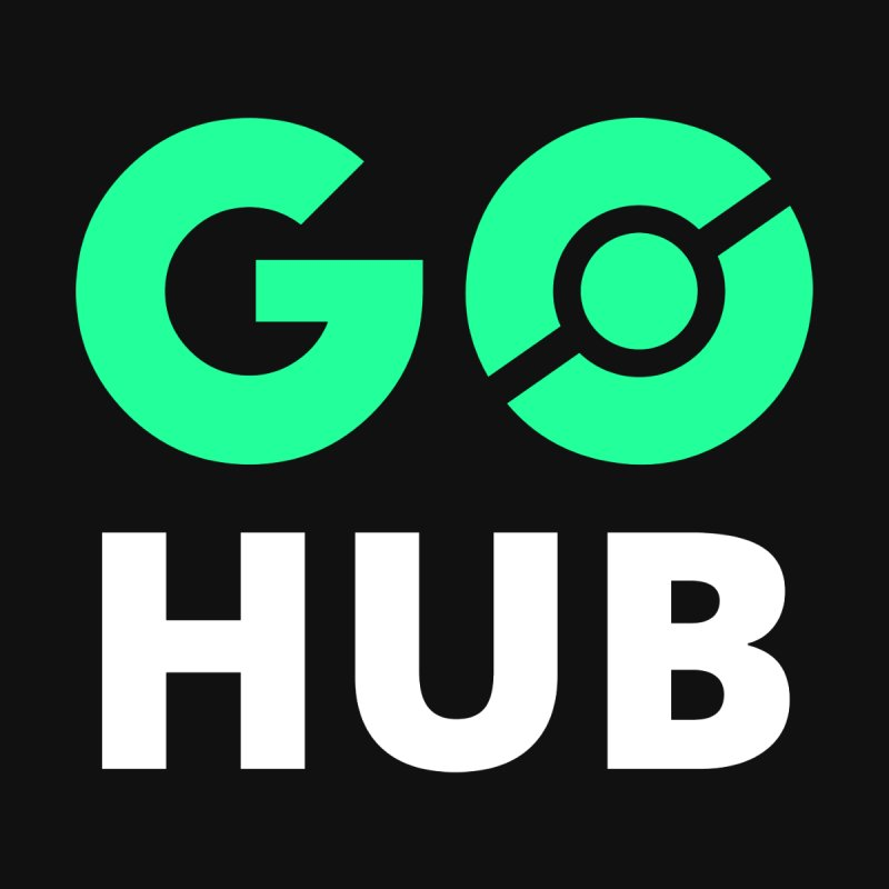 Square logo by GO Hub Shop
