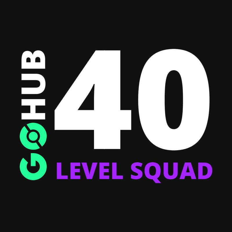 Level 40 Squad by GO Hub Shop
