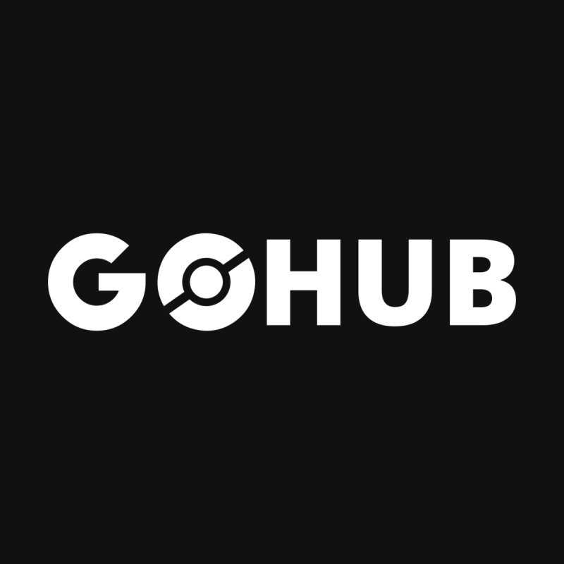 White Logo by GO Hub Shop