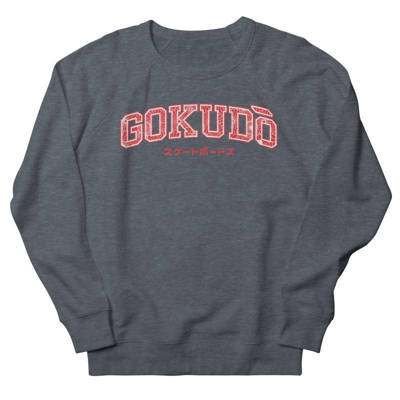 Gokudo Varsity Red Men's Sweatshirt by Gokuten