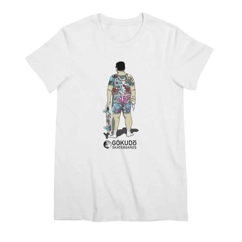 Brother Udagawa - Accountant Women's Premium T-Shirt by Gokuten