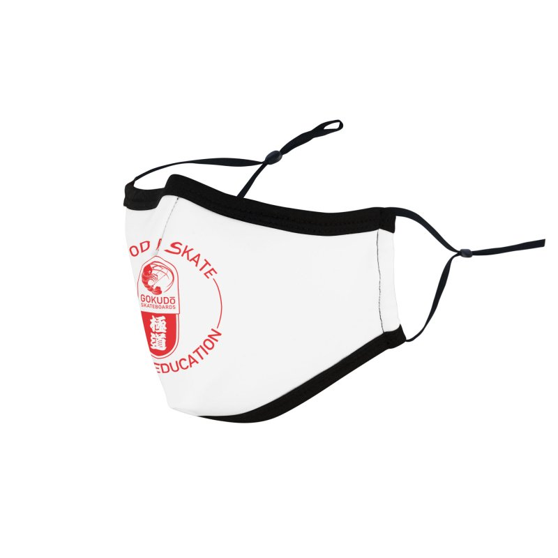 Good For Skate Accessories Face Mask by Gokuten