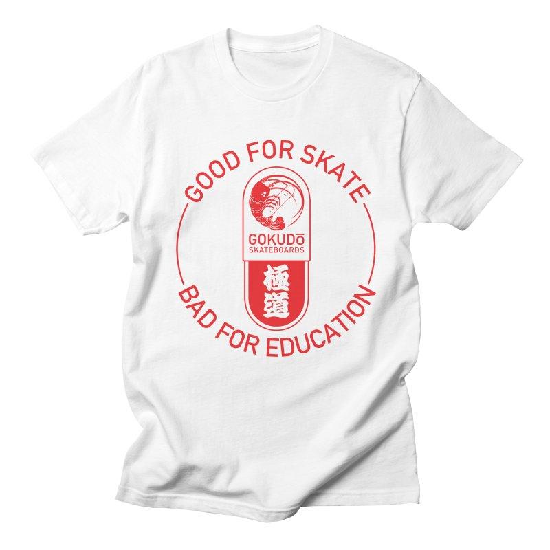Good For Skate Men's Regular T-Shirt by Gokuten