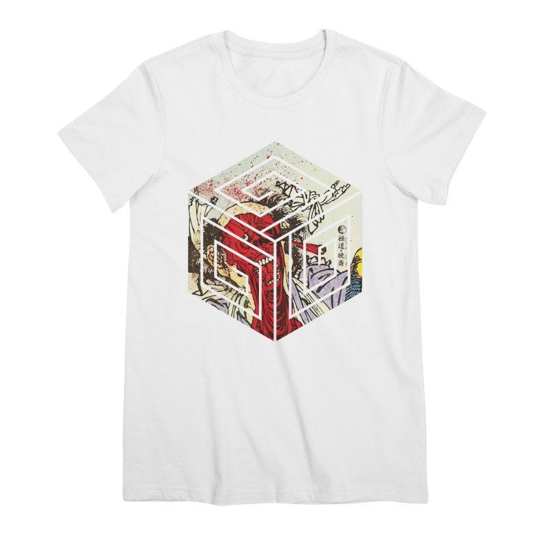 Gokudo X Kyousai FaceOff Women's Premium T-Shirt by Gokuten