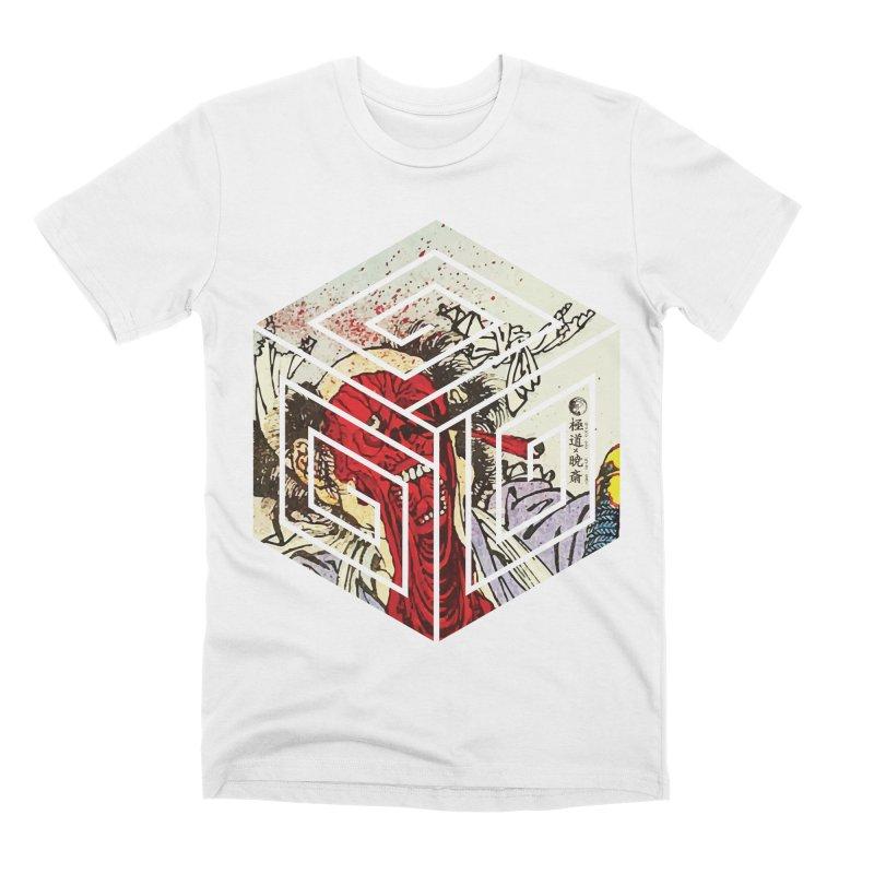 Gokudo X Kyousai FaceOff Men's Premium T-Shirt by Gokuten