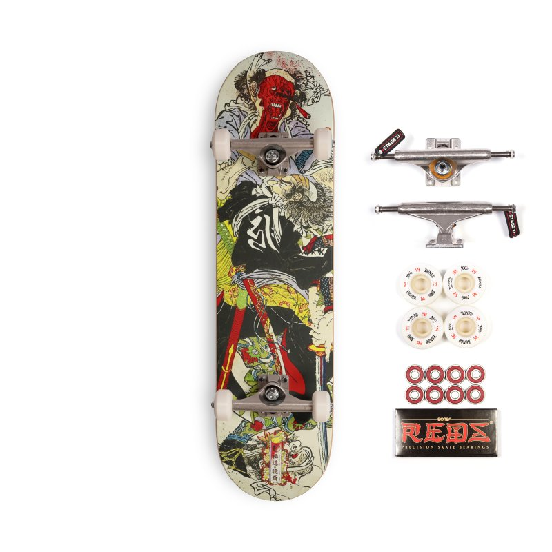 Gokudo x Kyousai Special Edition Deck Accessories Complete - Pro Skateboard by Gokuten