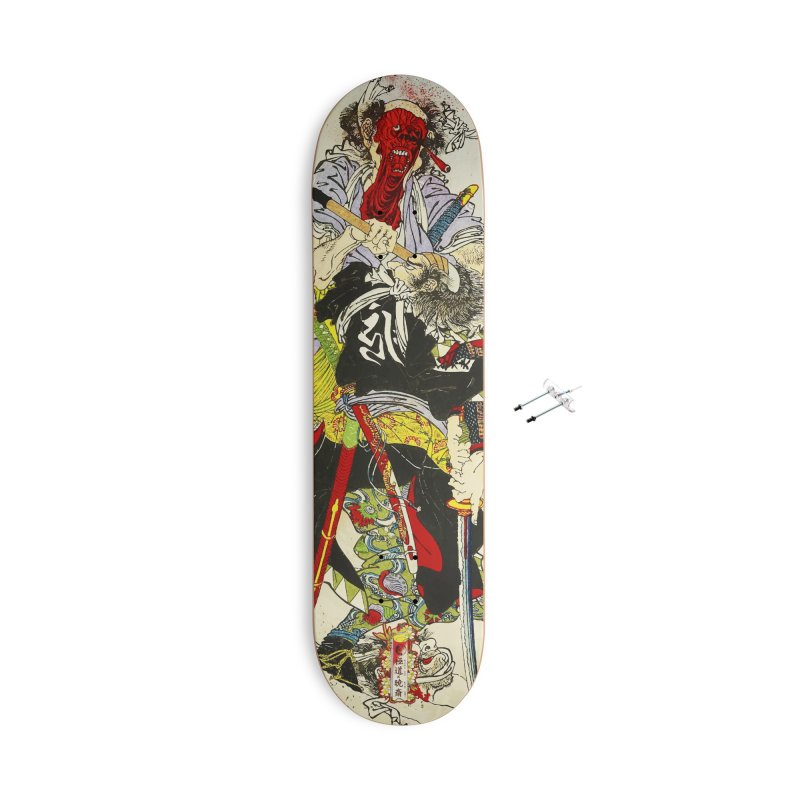 Gokudo x Kyousai Special Edition Deck Accessories With Hanging Hardware Skateboard by Gokuten