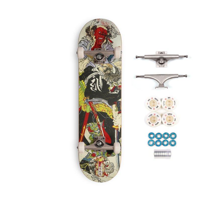 Gokudo x Kyousai Special Edition Deck Accessories Complete - Premium Skateboard by Gokuten