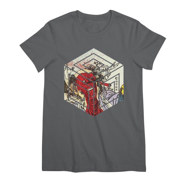 Face-Off T-Shirt Women's Premium T-Shirt by Gokuten