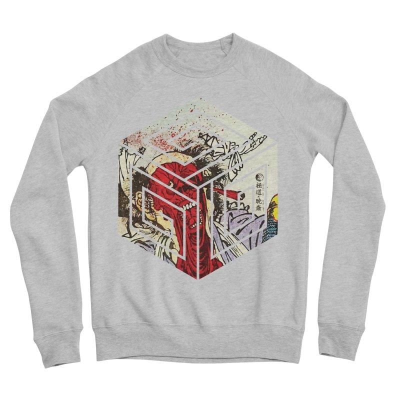 Face-Off T-Shirt Women's Sponge Fleece Sweatshirt by Gokuten