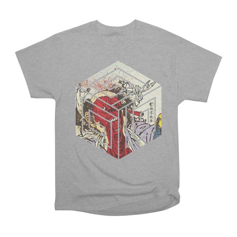 Face-Off T-Shirt Men's Heavyweight T-Shirt by Gokuten