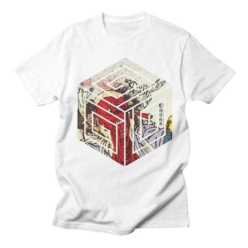 Face-Off T-Shirt Men's T-Shirt by Gokuten