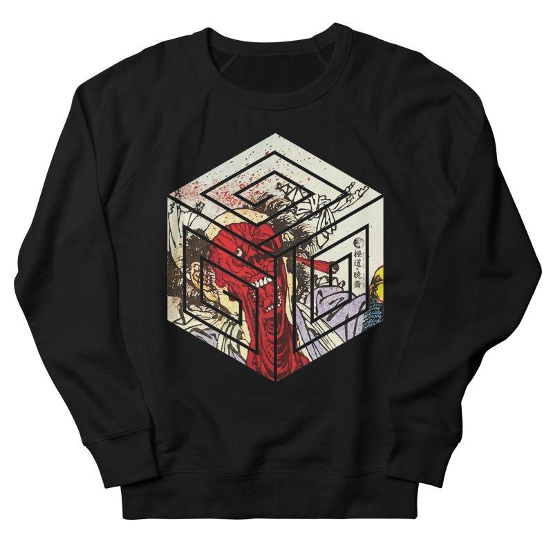 Face-Off T-Shirt Women's French Terry Sweatshirt by Gokuten