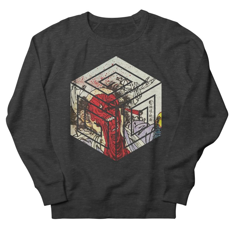 Face-Off T-Shirt Men's French Terry Sweatshirt by Gokuten