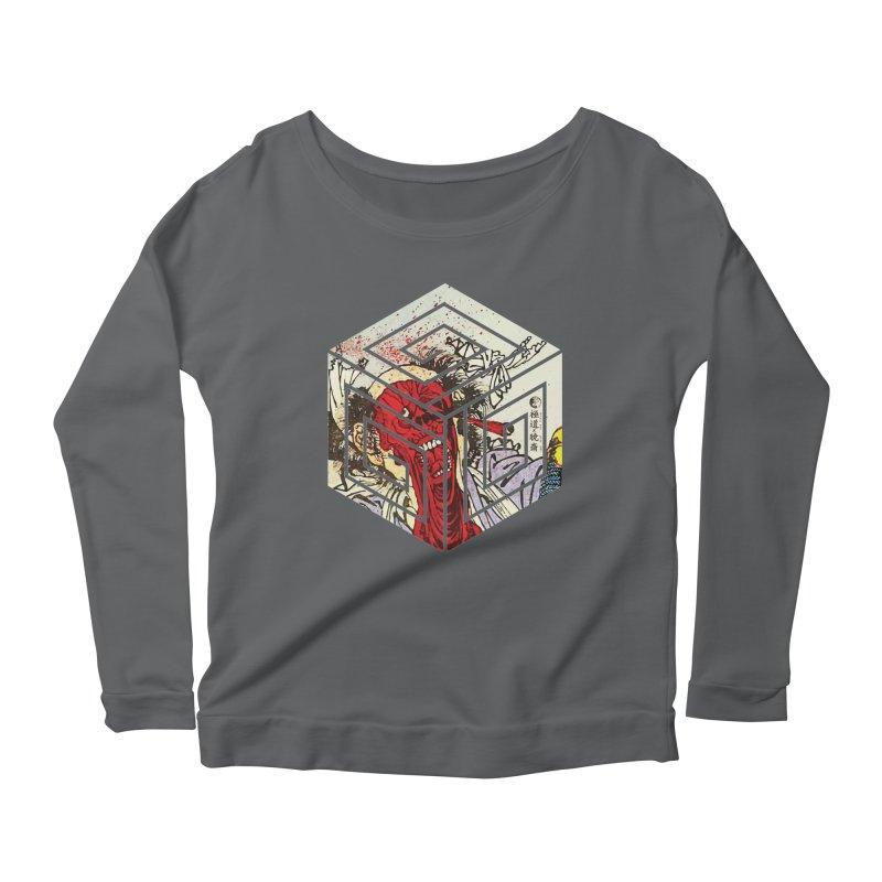 Face-Off T-Shirt Women's Scoop Neck Longsleeve T-Shirt by Gokuten