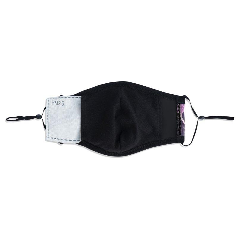 Virus Fuck Off! Deck - Blacklight Edition Accessories Face Mask by Gokuten
