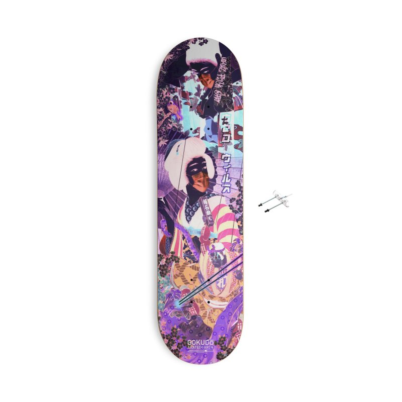 Virus Fuck Off! Deck - Blacklight Edition Accessories Skateboard by Gokuten
