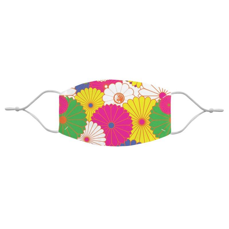 Gokudo Flowers Mask SHOKKU! #2 Accessories Face Mask by Gokuten