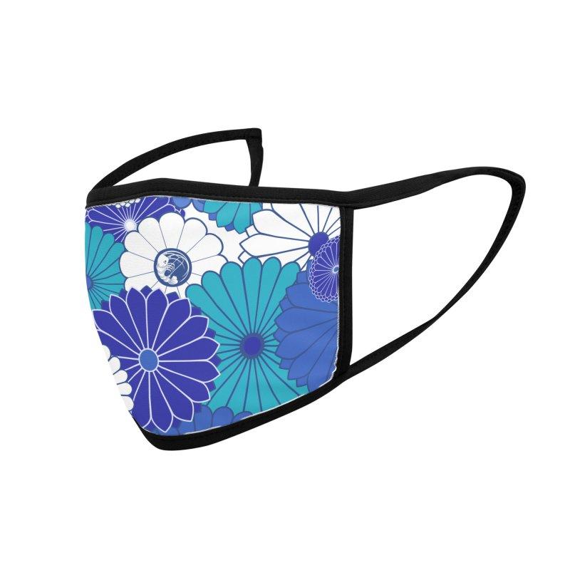 Gokudo Flowers Mask Dee-pu Buruu Accessories Face Mask by Gokuten