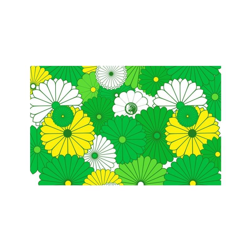 Gokudo Flowers Mask Gureen He-ru Accessories Face Mask by Gokuten