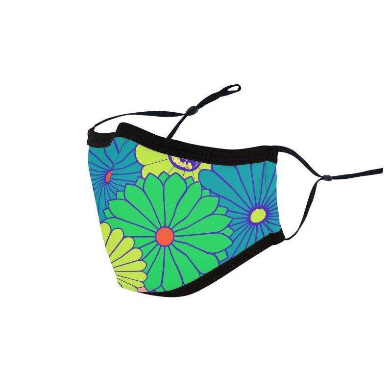 Gokudo Flowers Mask Painapperu Pie Accessories Face Mask by Gokuten