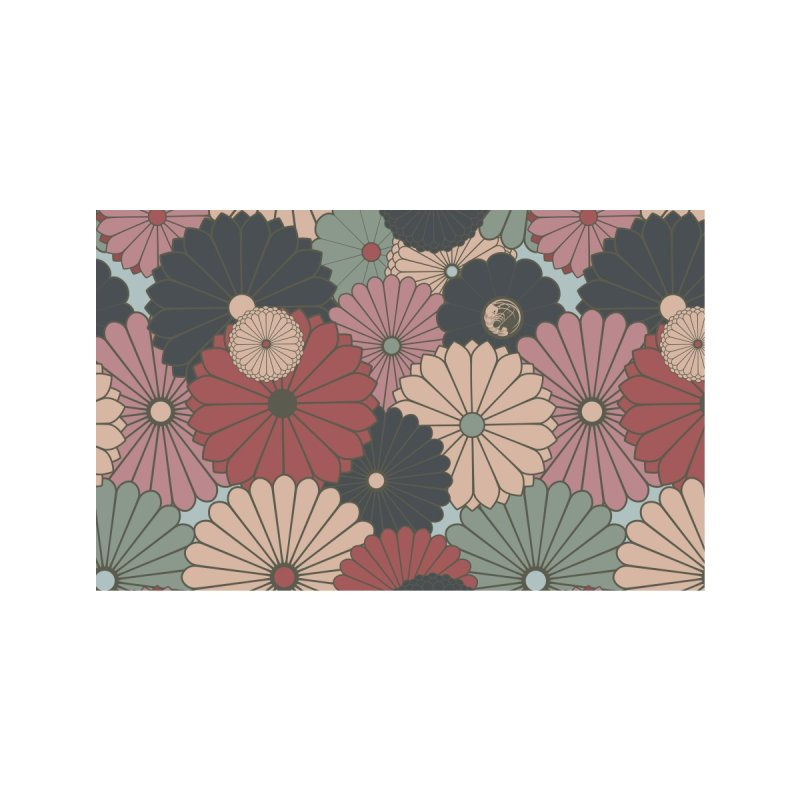 Gokudo Flowers Mask O-rudo La-su Accessories Face Mask by Gokuten