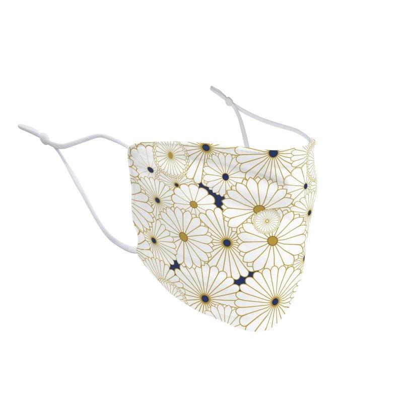 Gokudo Flowers Mask Jo-zo-sha Accessories Face Mask by Gokuten