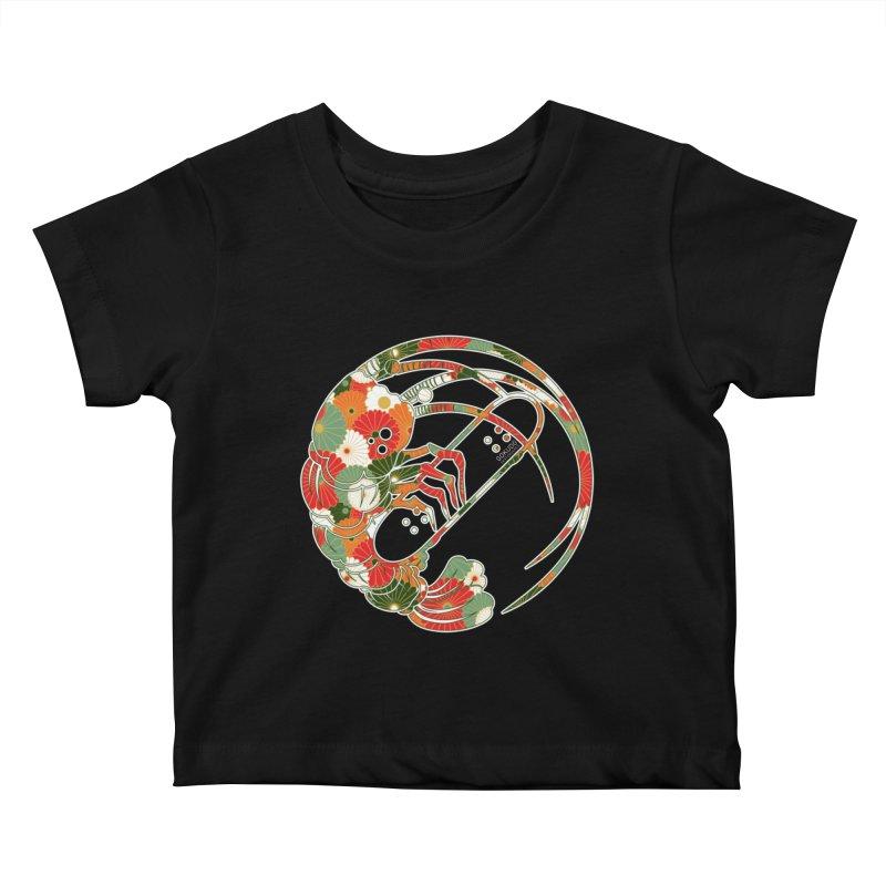 Gokudo Flowers T-Shirt Kids Baby T-Shirt by Gokuten
