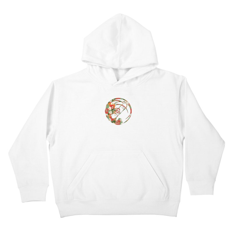 Gokudo Flowers T-Shirt Kids Pullover Hoody by Gokuten