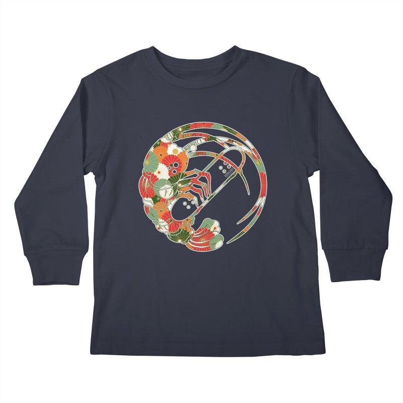 Gokudo Flowers T-Shirt Kids Longsleeve T-Shirt by Gokuten