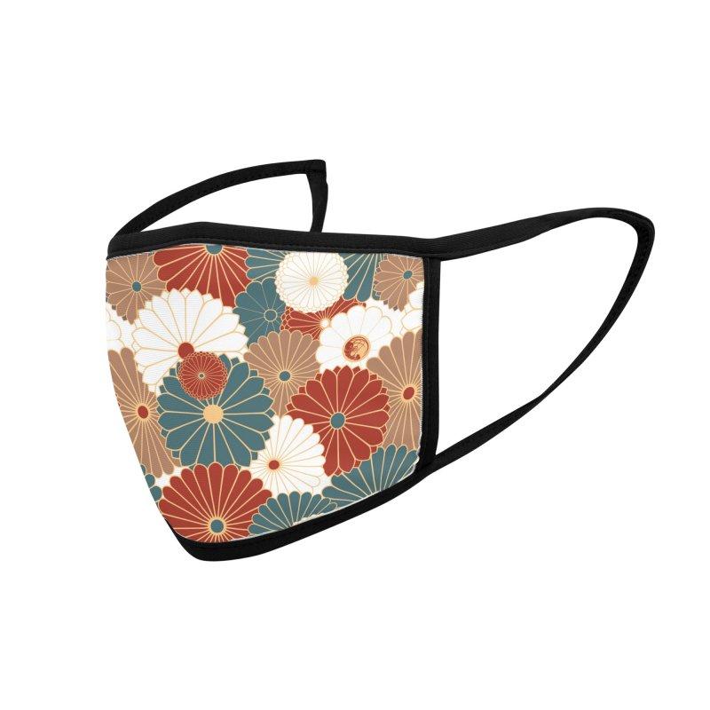 Gokudo Flowers Mask Earthday Smallprint Accessories Face Mask by Gokuten