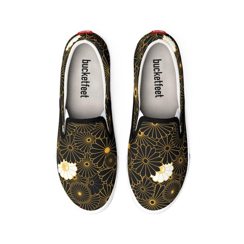 Gokudo Flowers Shoes Kaizoku Men's Shoes by Gokuten