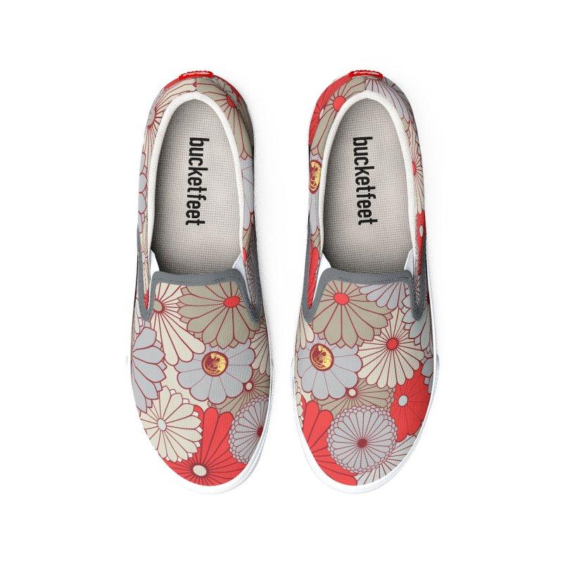 Gokudo Flowers Shoes Wakaranai Men's Shoes by Gokuten