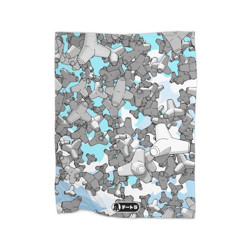 The Drop (Te-Tora 01) Home Blanket by Gokuten