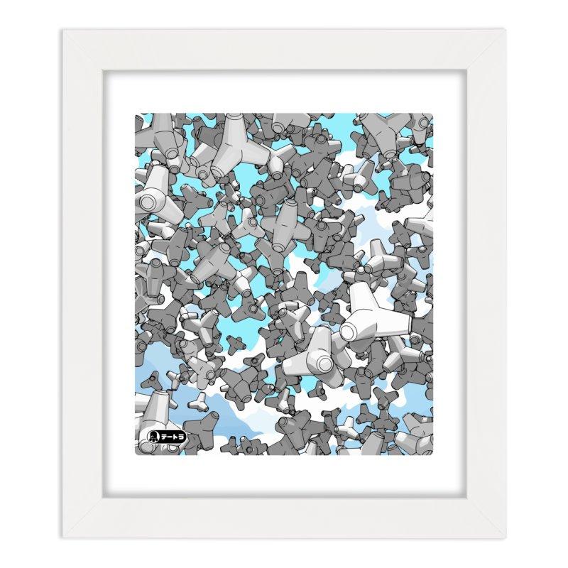 The Drop (Te-Tora 01) Home Framed Fine Art Print by Gokuten