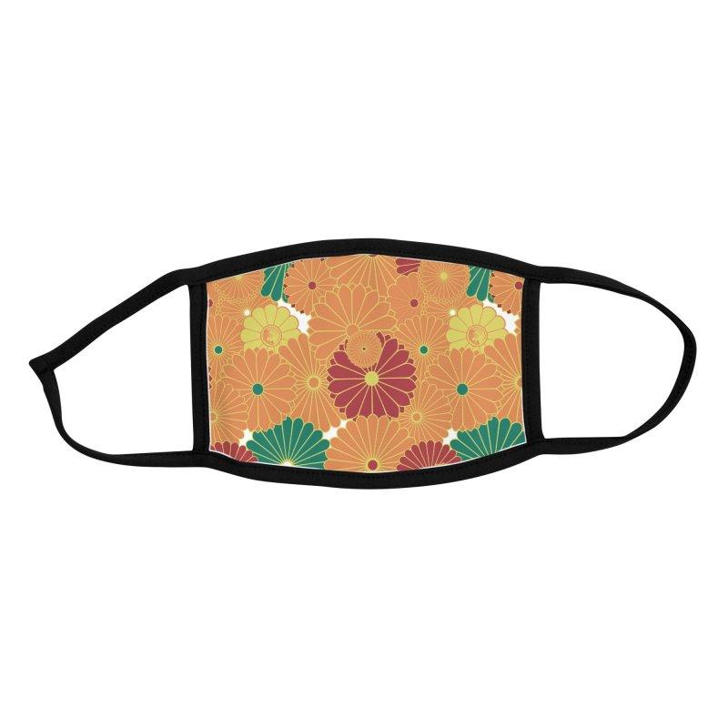 Gokudo Flowers Mask Aki no ni Accessories Face Mask by Gokuten