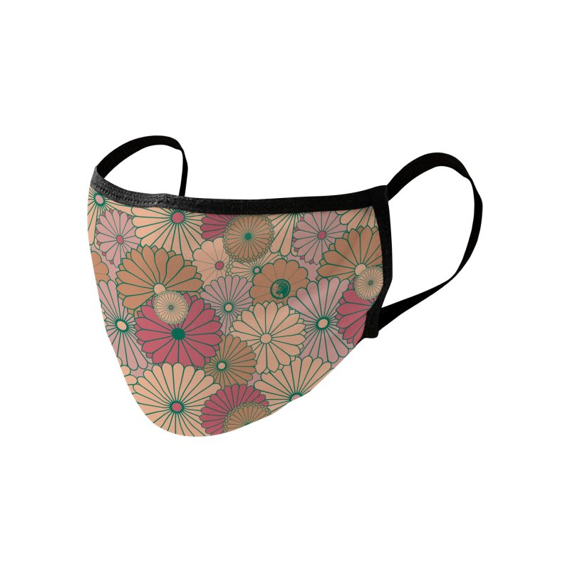 Gokudo Flowers Aki no Yon Accessories Face Mask by Gokuten