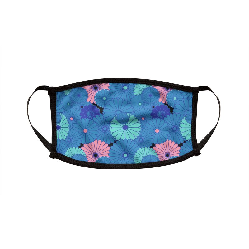 Gokudo Flowers Aki no Hachi Accessories Face Mask by Gokuten