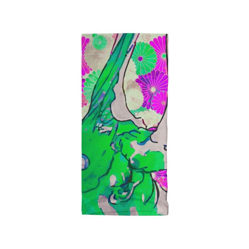 Gokudo Brutal Kill Deck - Martian Green Accessories Neck Gaiter by Gokuten