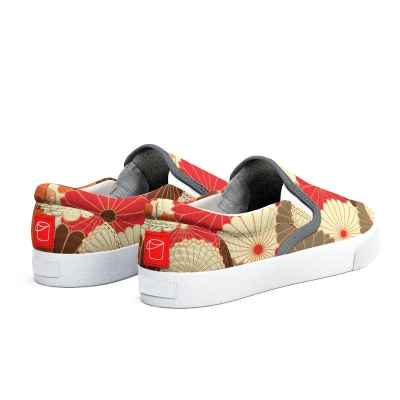 Gokudo Flowers (Don't) Fall Women's Shoes by Gokuten