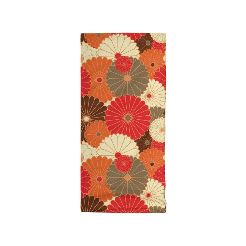 Gokudo Flowers (Don't) Fall Accessories Neck Gaiter by Gokuten