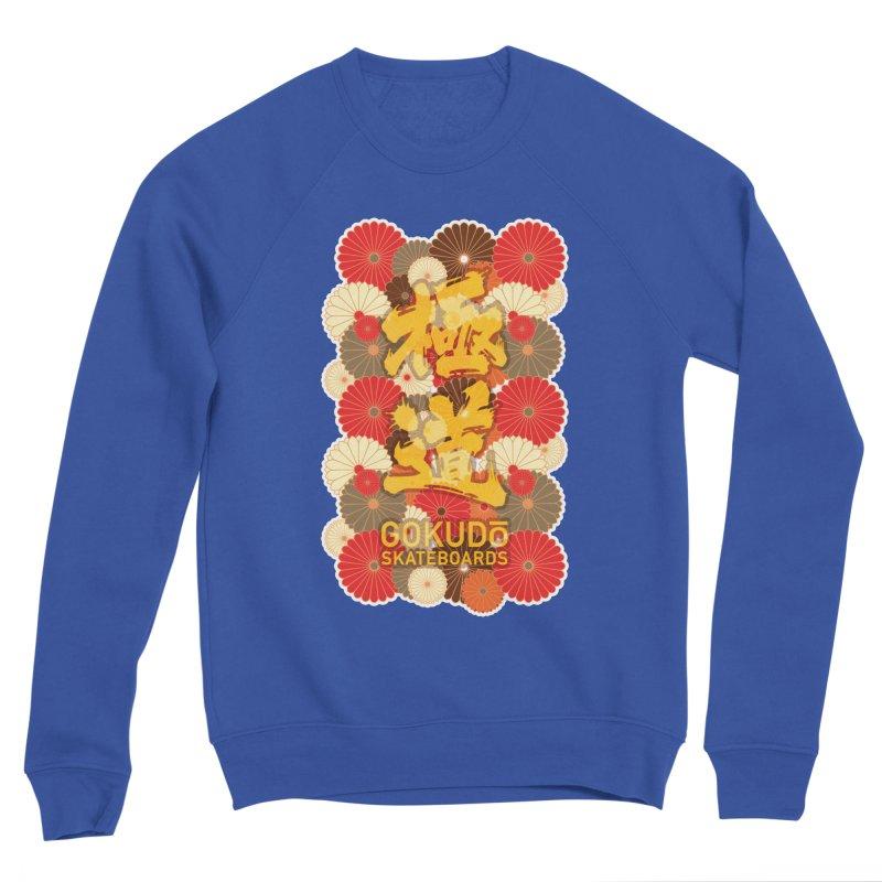 Gokudo Skateboards Fall Flowers Men's Sweatshirt by Gokuten